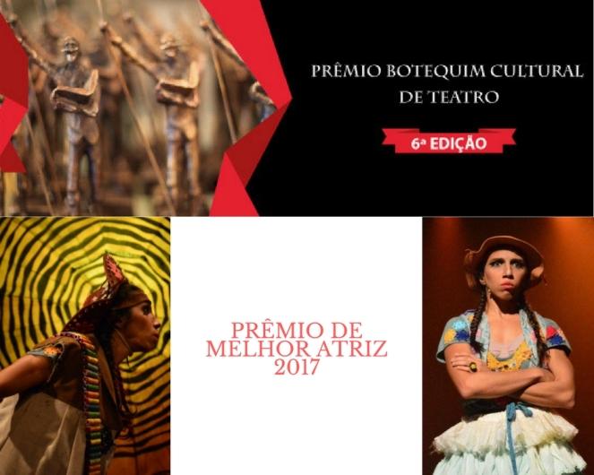 Prêmio de Melhor Atriz 2017